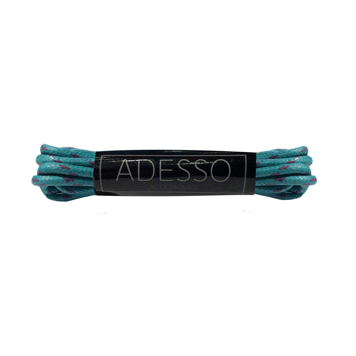 Camo Teal Waxed Cotton Laces