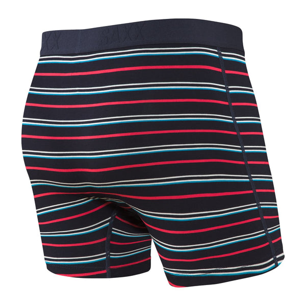 Saxx VIBE Boxer Briefs - DK INK COAST STRIPE - ICS Underwear Saxx