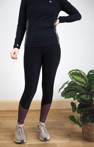 One Legging at a Time - Mauve