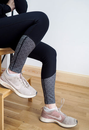 One Legging at a Time - Grey