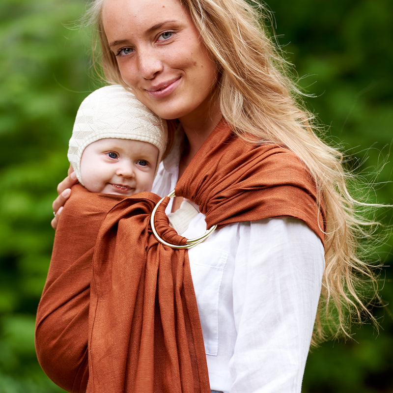 Kram Terracotta ring sling