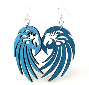Macaw Laser Cut Earrings