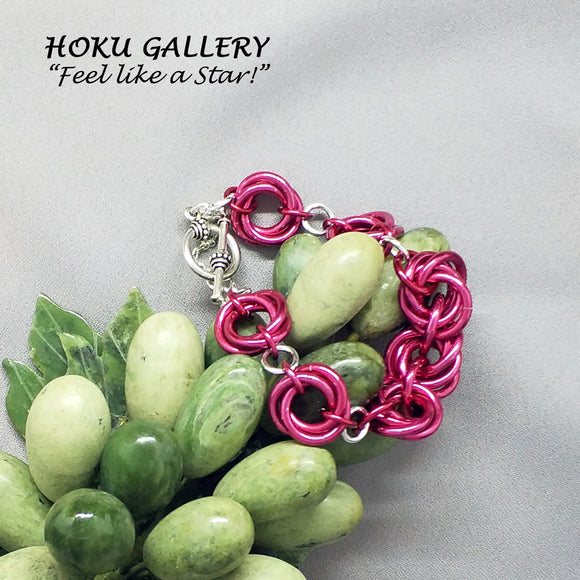 Chainmaille Mobius Bracelet - Hoku Gallery - Hoku Gallery