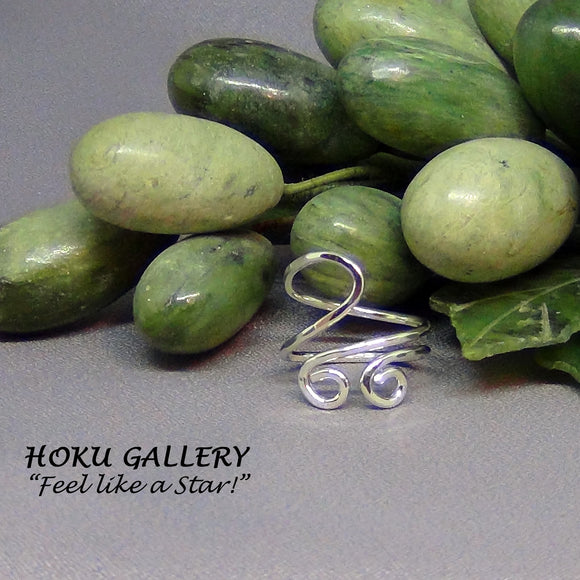 Wirewrapped, Adjustable Ring by Hoku Gallery - Hoku Gallery