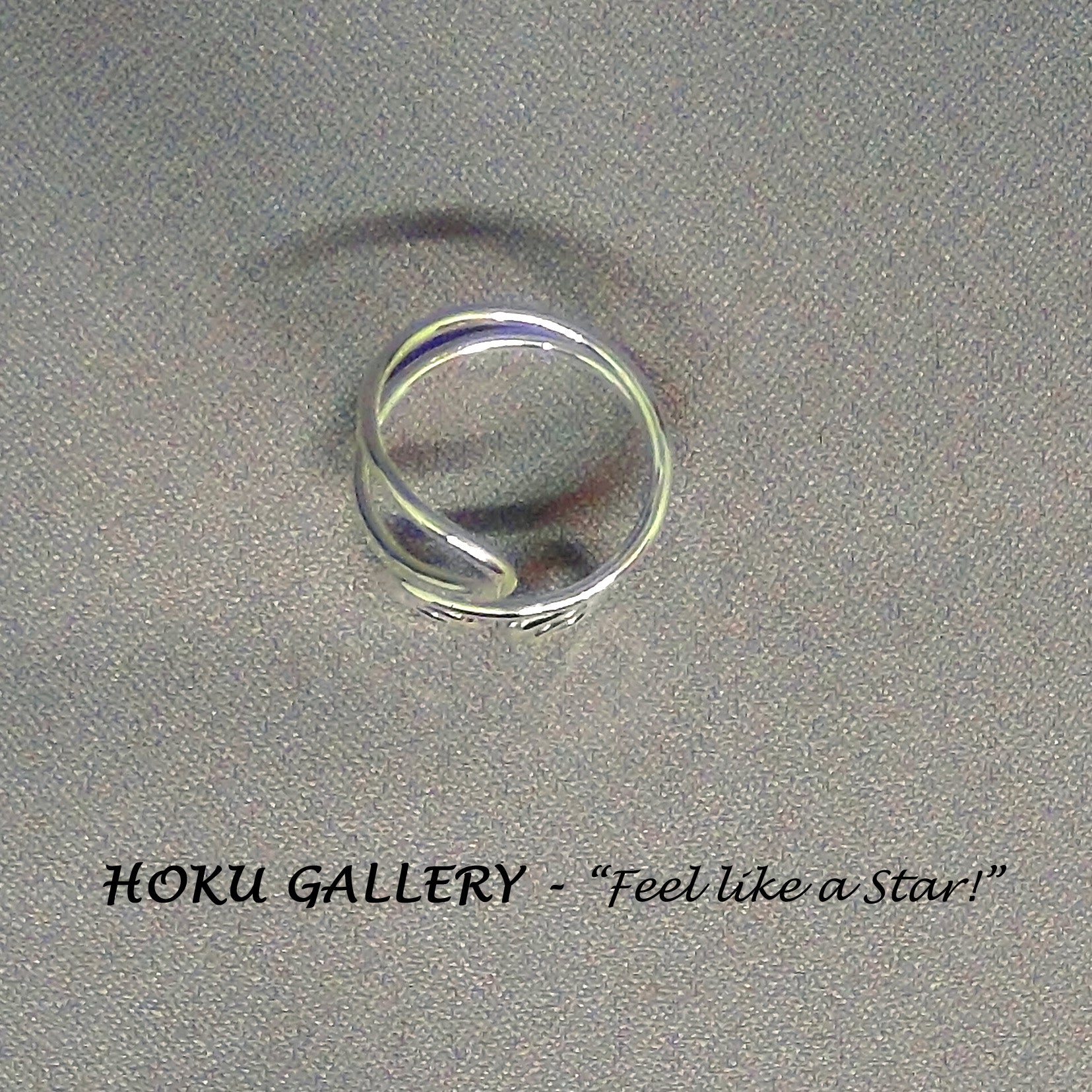 Wirewrapped, Adjustable Ring by Hoku Gallery