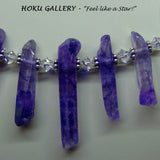Crystal Point Necklace - Hoku Gallery,  Hand Crafted Artisan Jewelry - Hoku Gallery
