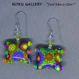 "Polymer Clay ""Smile"" Earrings - Hoku Gallery - Hoku Gallery"