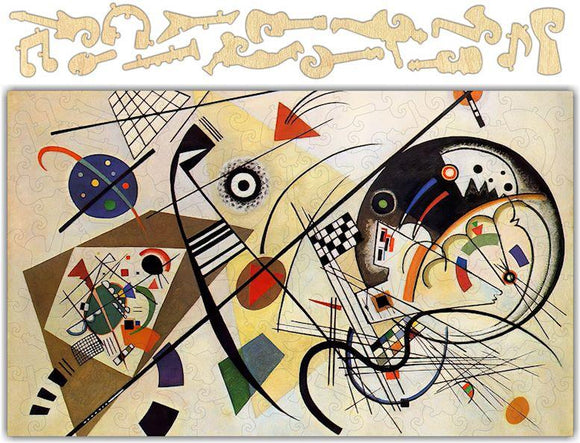 Musical Themed Kandinsky Jigsaw Puzzle