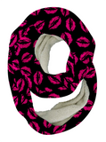 Hot Lips Infinity Scarf