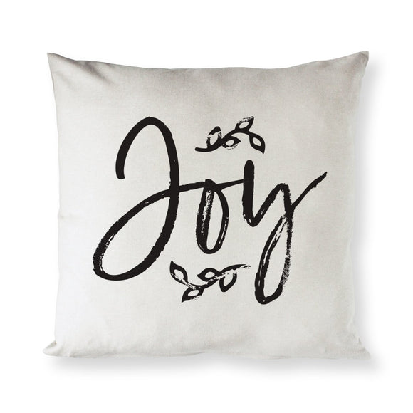 Joy, Christmas Holiday, Pillow Cover - Hoku Gallery