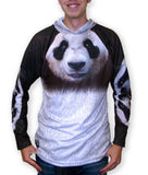 Children's & Adult PANDA BEAR Hoodie Sport Shirt by MOUTHMAN® - Hoku Gallery