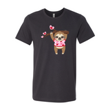 Women's / Unisex Valentine Sloth T-Shirt