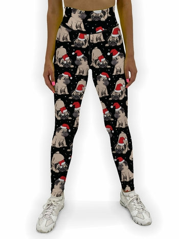 Christmas Puppies Jean Legging