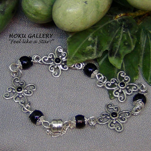 Filigree, Wirewrap Bracelet - Hoku Gallery,  Hand Crafted Artisan Jewelry