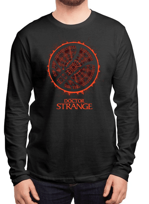 DOCTOR STRANGE LOGO Full Sleeves T-shirt - Hoku Gallery