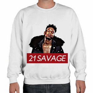 21 Savage Bad Business Pullover