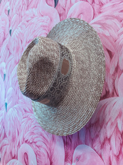 Classic Straw Rancher Hat