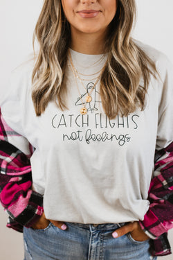 Catch Flights Tee