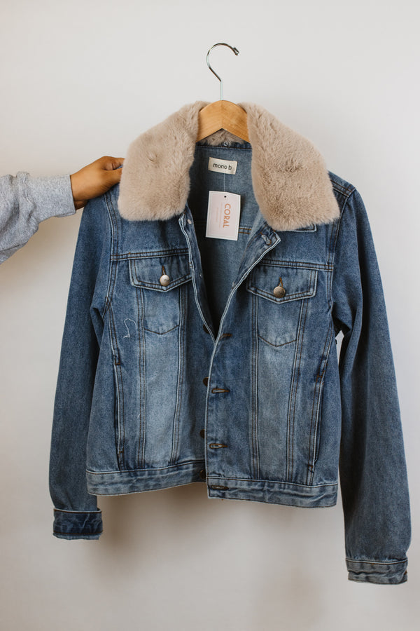 Faded Fur Jacket