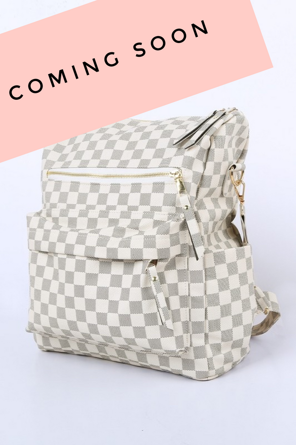 Checkered Backpack PREORDER