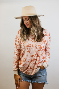 The Tammy Paisley Top