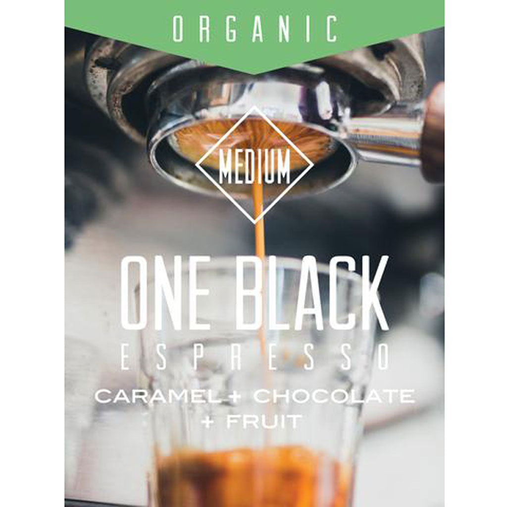 One Black Expresso - Organic (Dark Roast)