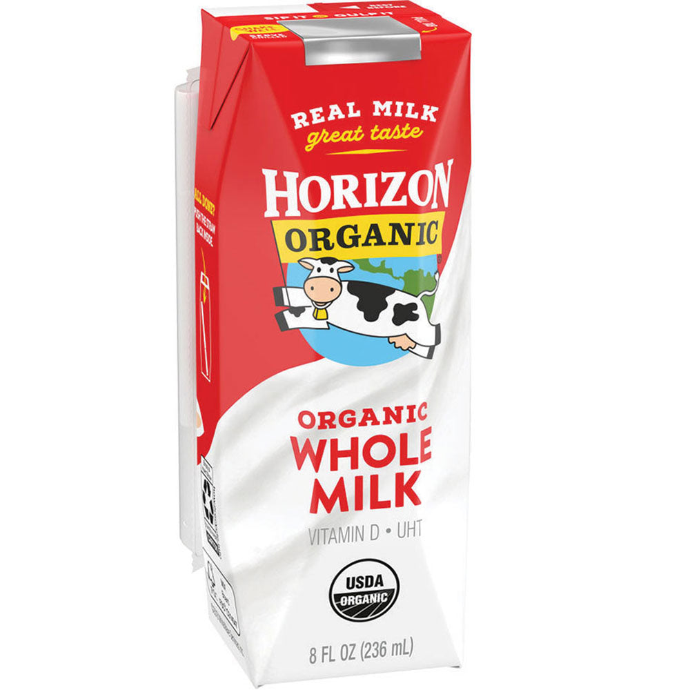 Horizon Organic Whole Milk Box
