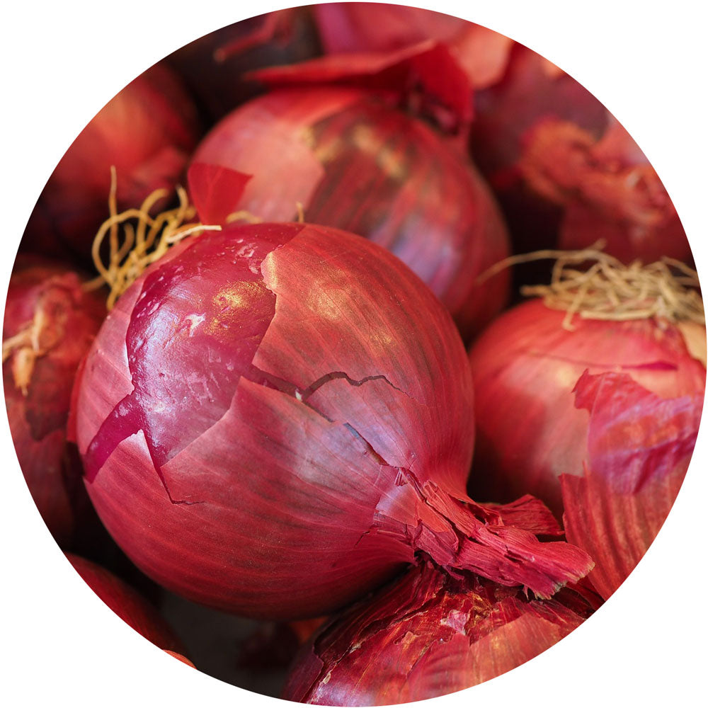 Red<br>Onions