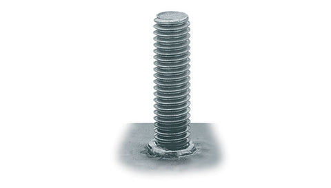 "1/2-13"" Stainless Steel Full Thread ARC Studs"