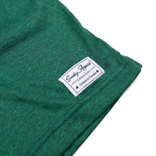 Premium Heather Forrest Green Polo