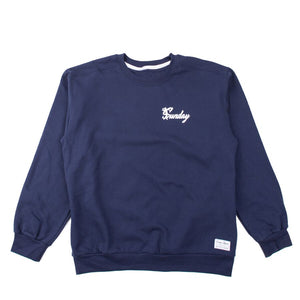 "Navy ""Swing"" Crewneck"
