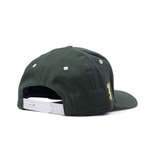 "Forest Green ""Tiger"" Snapback"