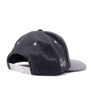 "Charcoal Grey ""Roller"" Snapback"