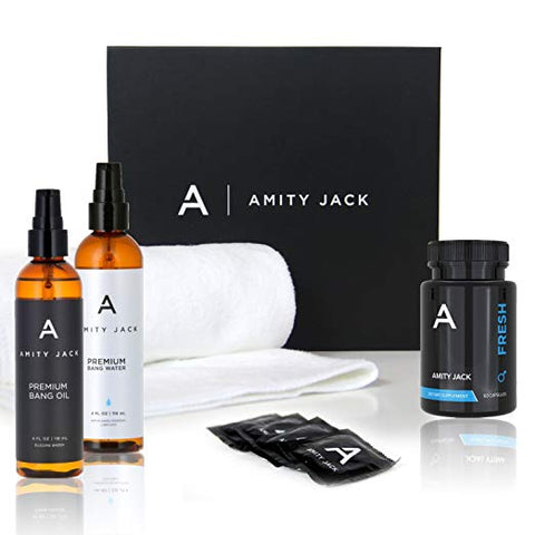 Amity Jack's Essentials Bedside Black Box | 6 items
