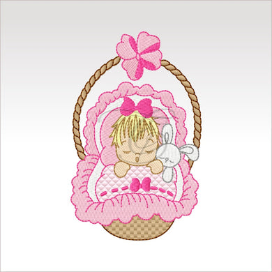 Sleeping Babies - 10 Designs 4 X Inch (10 Cm) Baby 9