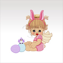 Precious Angels - 9 Designs 4 X Inch (10 10 Cm) Hoop Angel 3 4X4