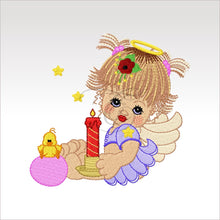 Precious Angels - 9 Designs 4 X Inch (10 10 Cm) Hoop Angel 6 4X4