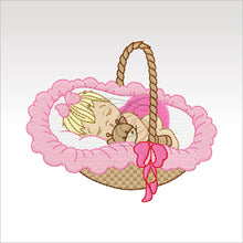 Sleeping Babies - 10 Designs 4 X Inch (10 Cm) Baby 7