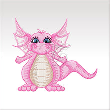 Daishi Dragon - 4 Designs X Inch (10 10 Cm) Hoop 1 4X4 Dragons