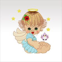 Precious Angels - 9 Designs 4 X Inch (10 10 Cm) Hoop Angel 1 4X4