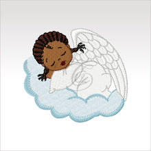 Little Angels - 6 Designs 4 X Inch (10 10 Cm) Hoop Angel 5 4X4