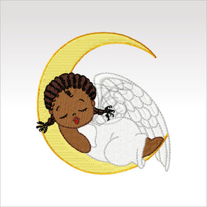 Little Angels - 6 Designs 4 X Inch (10 10 Cm) Hoop Angel 9 4X4