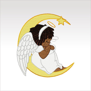 Little Angels - 6 Designs 4 X Inch (10 10 Cm) Hoop Angel 4X4