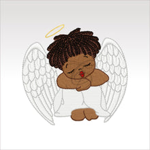 Little Angels - 6 Designs 4 X Inch (10 10 Cm) Hoop Angel 8 4X4