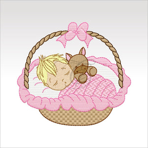 Sleeping Babies - 10 Designs 4 X Inch (10 Cm)
