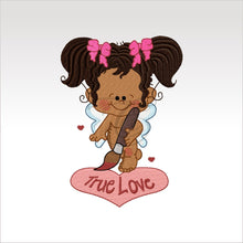 Valentine Girls - Designs 4 X Inch (10 10 Cm) Hoop Girl 3 4X4 Children