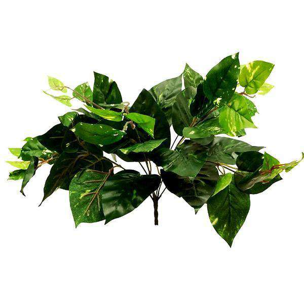 10 Bush 70 Pcs Green Artificial Ivy Pothos Leaf Foliage Vase Centerpiece Decoration