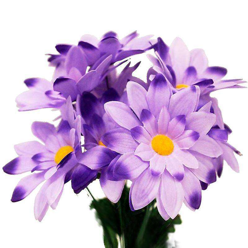 108 Artificial Westfield Alba Flowers Bridal Bouquet Wedding Vase Centerpiece Decor-Purple
