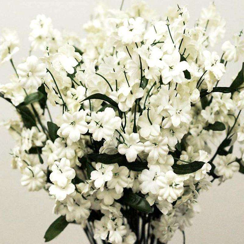 12 Silk Baby Breath-Ivory