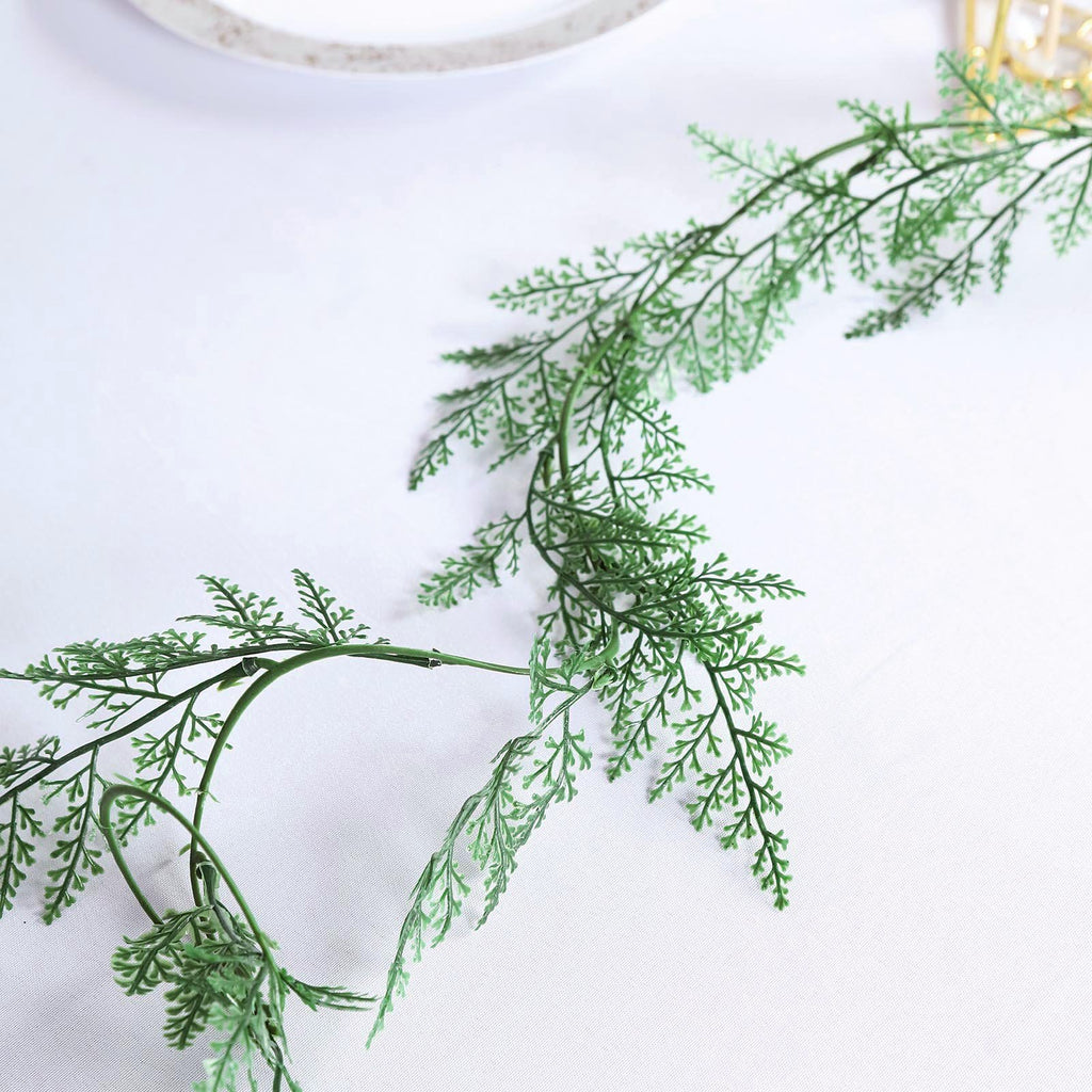 Pack of 2 | 7.5ft Faux Greenery Garland Artificial Vines Hanging Ferns